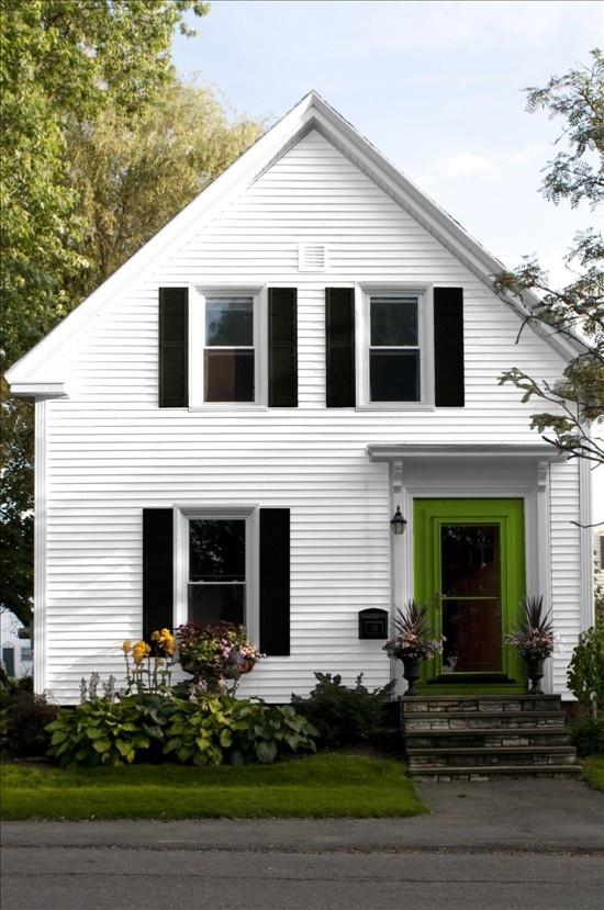 White House Green Door Diy Crafts Decor Organization