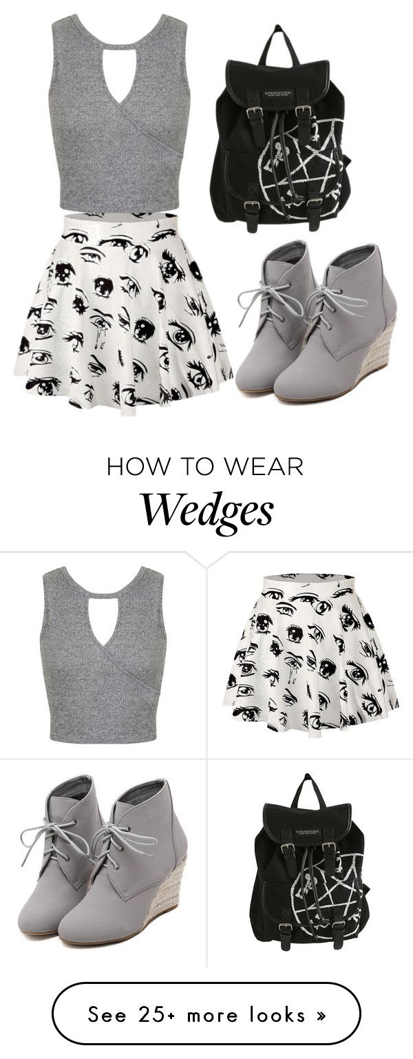 """Untitled #962"" by anyierojas on Polyvore featuring WithChic, Miss Selfridge…"