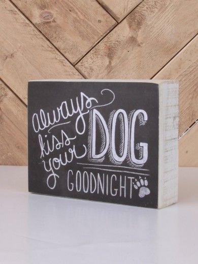 I love this sign! I must make one for above the dog beds :)