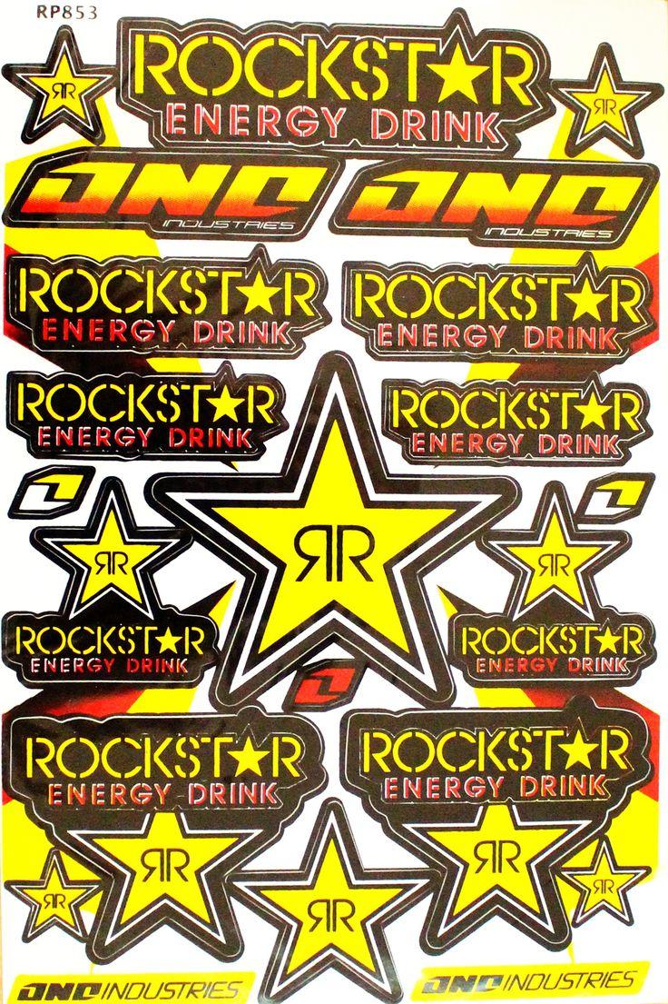 Rockstar+Stickers, £7.99