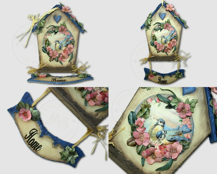 Home decoration - decoupage 3d and sospeso (from Asket project).