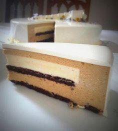 Torta Colombia al Caffè e Cioccolato Bianco