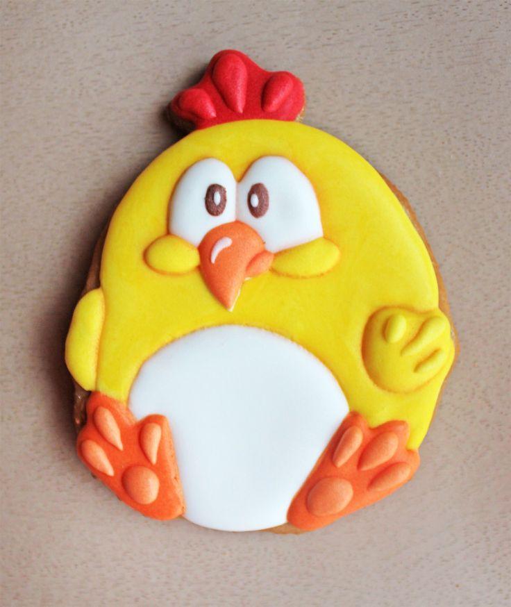 Пряник имбирный  цыпленок