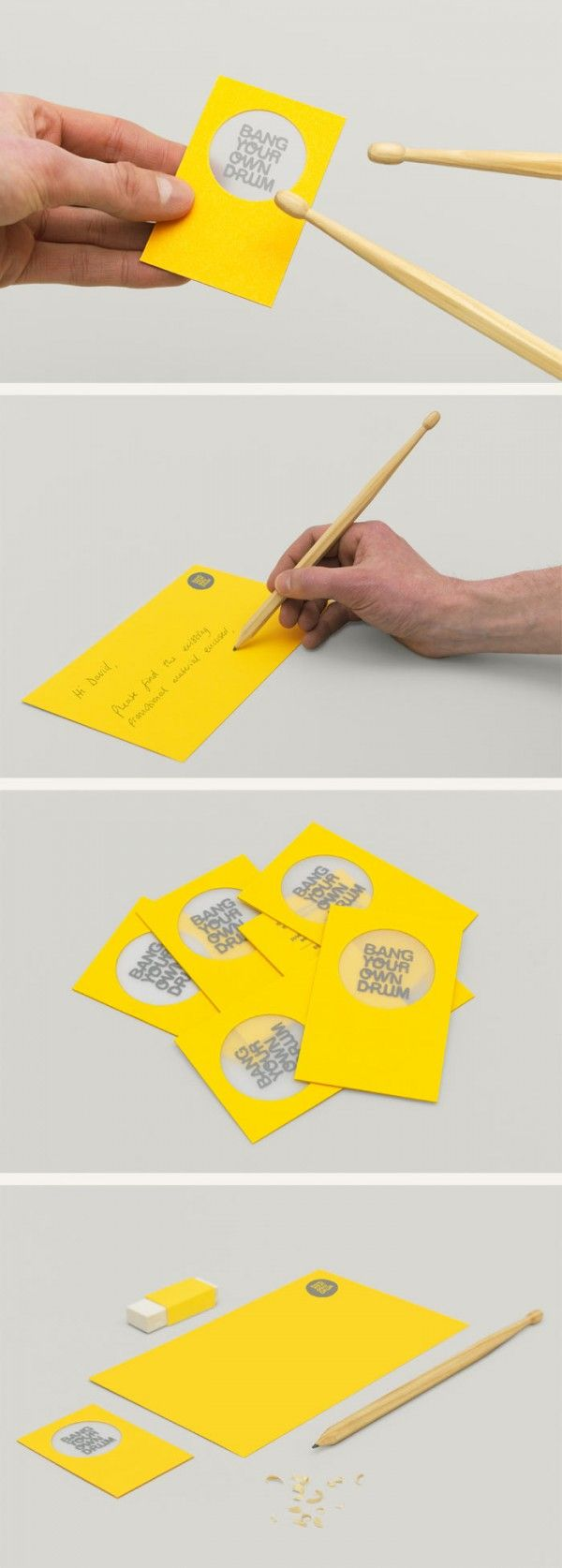 bang your own drum? awesome business cards                                                                                                                                                                                 More
