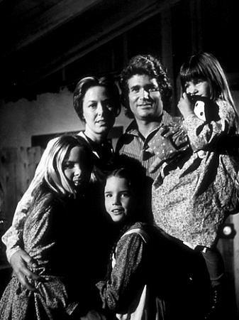 """Little House on the Prairie"" Melissa Gilbert, Melissa Sue Anderson, Karne Grassle, Michael Landon, Lindsay Greenbush 1974 NBC"