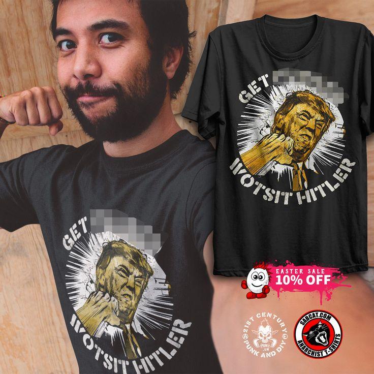 Wotsit Hitler T-Shirts, 10% off in our Easter Sale, join us and TRUCKFUMP! Grab your tshirt here - http://punx.uk/gig/wotsit-called-fest-2016/    #sabcat #punxuk #trump #donaldtrump #wotsithitler #antifascist #antifa #antifascists #usa #politicaltshirt #anarchist #anarchy #hitler #nonazi #antiracist #blm #president #political #punx #punk #punktee #tshirttime #tshirt #truckfump
