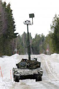 Norwegian CV9030N during Excercise Cold Response 2016