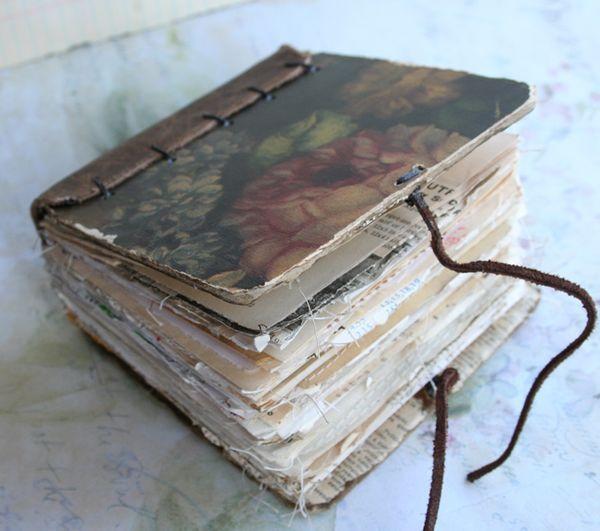 Chunky little rose book by Patty Van Dorin on ramblingrose.typepad.com