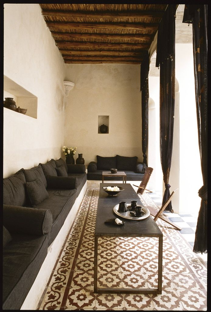 Living room the Moroccan style