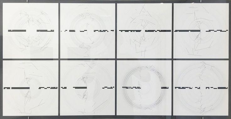 Manfred Mohr, 'P1690_2x8', 2017