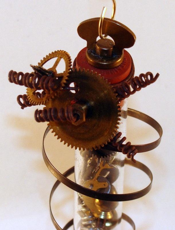 Steampunk Ornaments - Bing Images  http://www.etsy.com/listing/85978372/steampunk-clockworks-test-tube-ornament