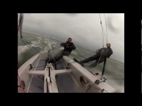 Fireball Sailing with Ben and Mark