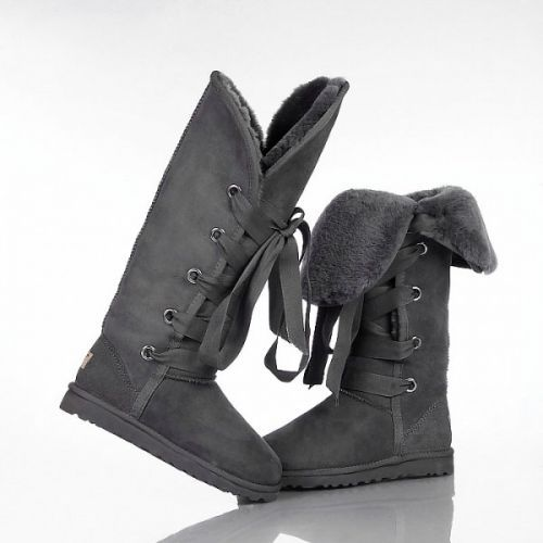 Ugg Roxy Tall Boots 5818 Grey