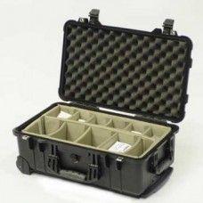 Peli 1510 Wheeled case with Divider set