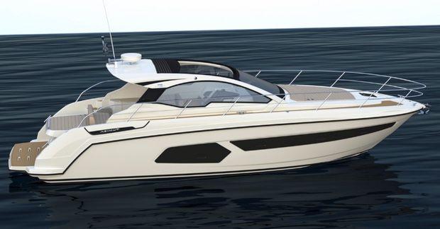 Azimut Yachts presentará el nuevo Azimut Atlantis 43 en el Düsseldorf Boat Show 2015