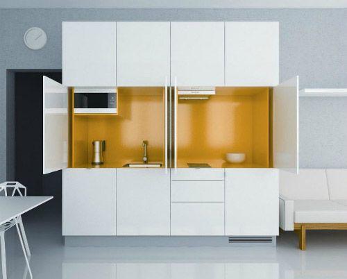 компактная кухня