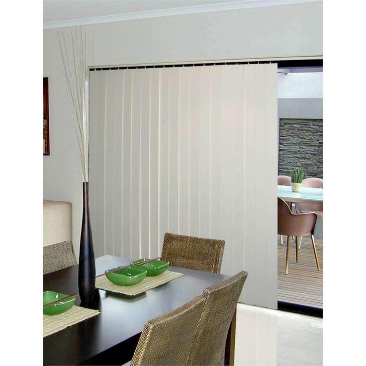 Smart Home Products 180 x 210cm Alabaster PVC Vertical Blind