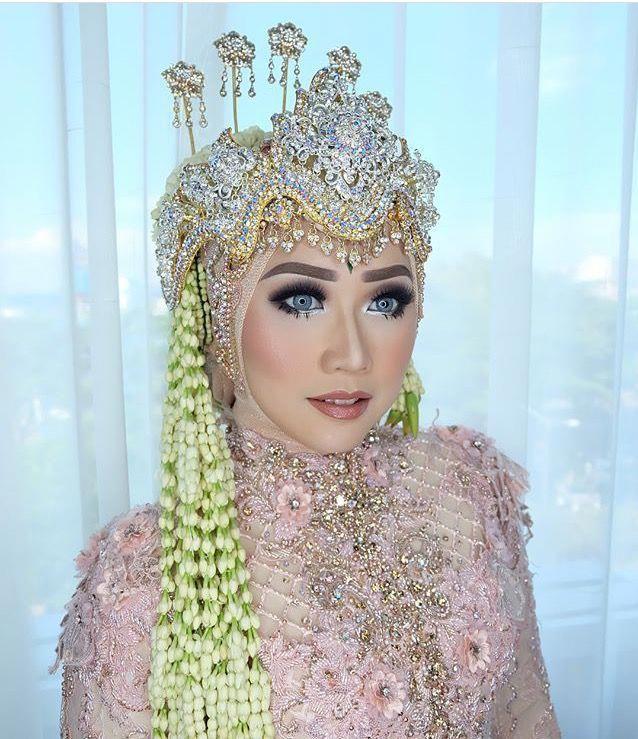 Siger Sunda Pengantin Kebaya Ayung Berinda Dress Soft Pink