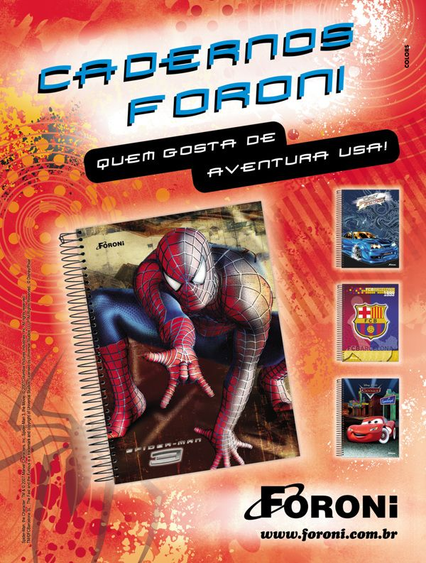 Campanha de Volta às Aulas Foroni 2008 on Behance