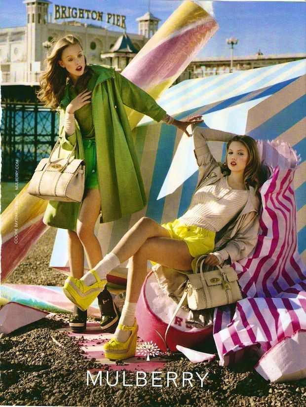 colors: I Observed That The Campaigns, Candy Colors, Summer Shades, Ads Campaigns, Candy Canes, Tim Walker, Neon Colors, 2012 Campaigns, Mulberry Campaigns