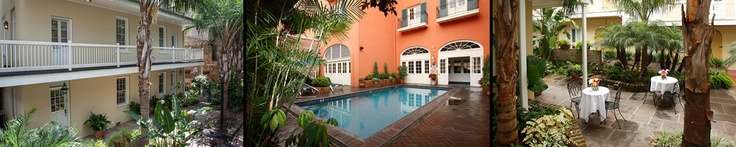 Dauphine Orleans Hotel - New Orleans French Quarter Hotel…..$45/person/night including breakfast