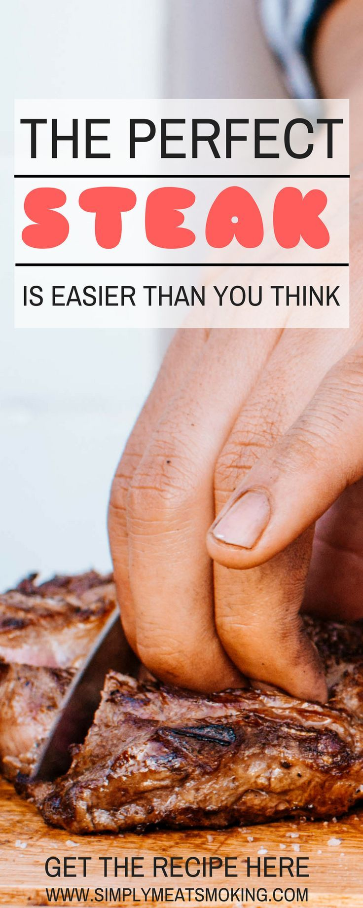 Cooking the perfect steak is easier than you think!    | Steak | Steak Recipe | Cooking Tips | Grilling Tips | Barbecue Tips | BBQ Tips | BBQ Recipe | Grilling Recipe | How To |     #Steak # BBQtips #BBQrecipe #Recipe #Barbecuerecipe