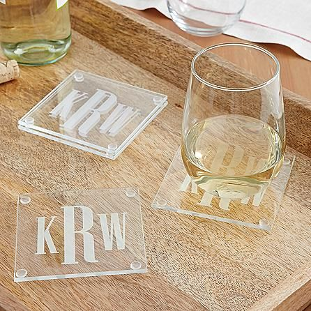 Give guests a perfectly elegant place to set their holiday drinks. A classic gift for the holidays.