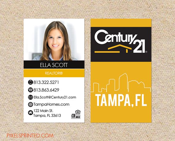 realtor business cards century 21 business cards real