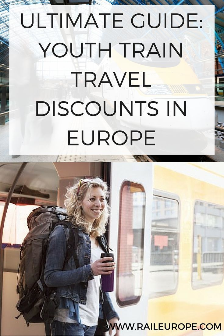 Rail Europe's Guide to youth travel discounts in Europe, via train. Covering rail passes, train tickets, #Eurostar, sightseeing, & more! Read on: http://www.raileurope.com/blog/14512-ultimate-guide-to-youth-travel-in-europe-this-summer-discounts-train-travel-tips-more