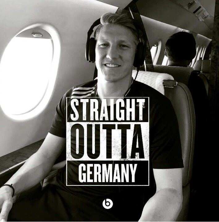 Bastian Schweinsteiger - Man U  From his Instagram