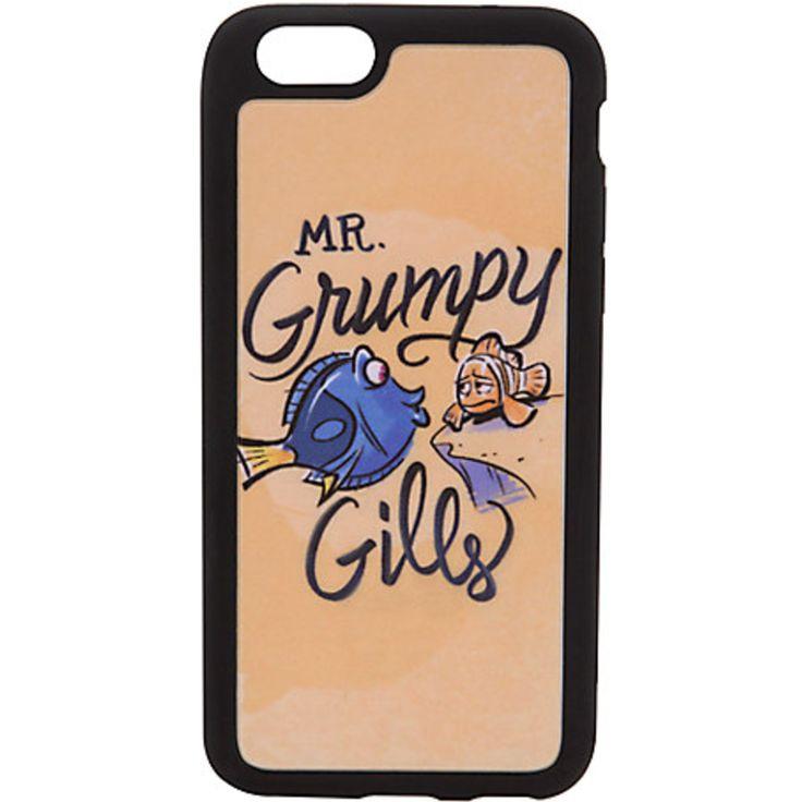 Finding Nemo Phone Case Dory Marlin Mr. Grumpy Gills