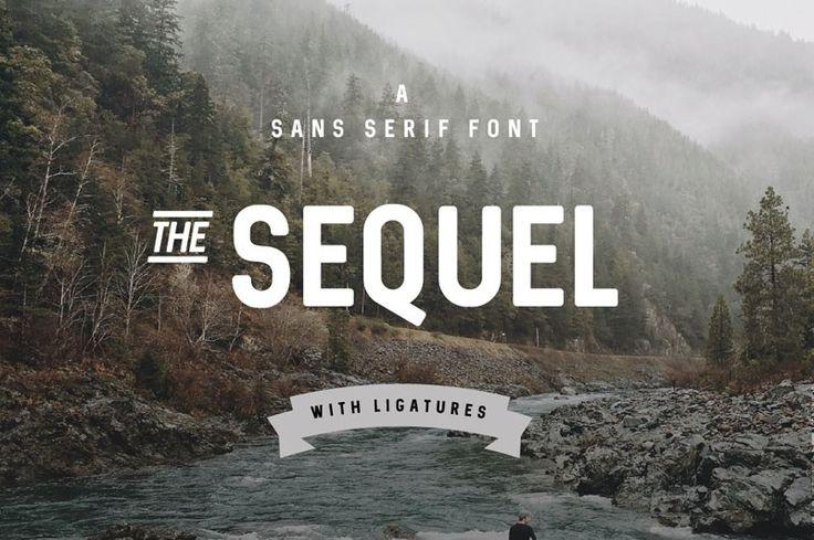 Sequel Free Modern Font