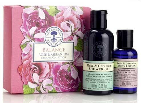 Balance Rose & Geranium Organic Collection - Kits & Gifts | Fina Mig