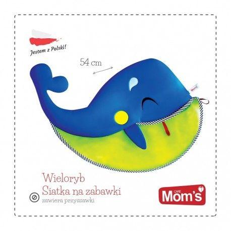 """Witajcie z """"Wielorybim"""" uśmiechem:)  Czy wasze pociechy mają mnóstwo zabawek do kąpieli porozrzucane po łazience, a wy nie wiecie co z nimi zrobić?  """"Nadpływa"""" rozwiązanie:)  Siatka na Zabawki do Kąpieli - Zabawka Hencz 960 Wieloryb dla dzieci od lat 3.  i po kłopocie:)  http://www.niczchin.pl/zabawki-do-kapieli/3410-hencz-960-siatka-na-zabawki-wieloryb.html  #zabawkidokąpieli #siatkanazabawki #hencz #zabawki #niczchin #kraków"""