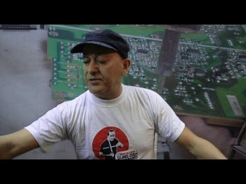 Video de como reparar un TV de LCD debido a problemas con la fuente de poder (Capacitores dañados). En este caso una television LG, sucede mucho tambien con ...
