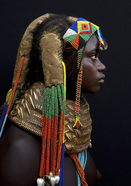 .: Mumuhuila Hairstyles, Dreadlocks, Numbers, Herbs, Roots, Africa, Eric Lafforgue, People, Necklace