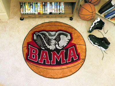 Basketball Mat - University of Alabama. Cool mat.