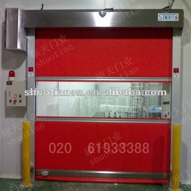 High quality automatic door with high speed pvc roll shutter in guangzhou $1000~$5000