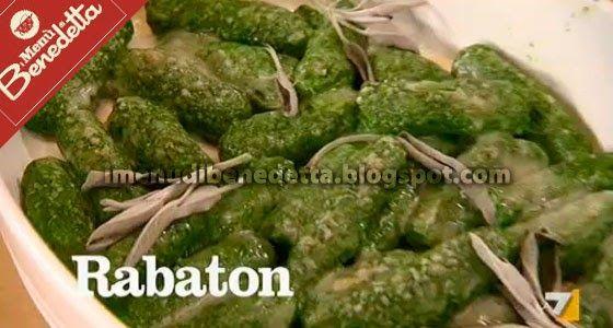 Rabaton   la ricetta di Benedetta Parodi