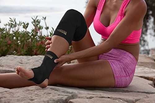 Knee-Support-Brace-Copper-Fit-Compression-Sleeve-Supports-Improved-Circulation