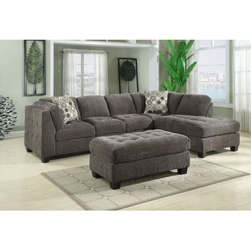 Kennelly Leather Modular Sectional Home Home
