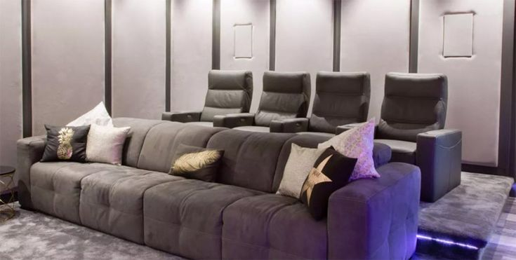 Dolby Atmos Home Theater Finds a Home in Basement Bar
