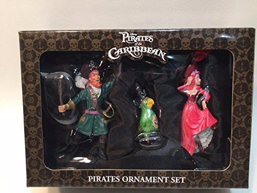 Disney Pirates of the Caribbean Christmas Holiday Ornament ...