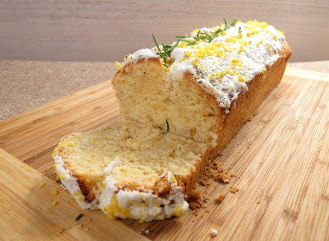 Ciasto cytrynowe z rozmarynem