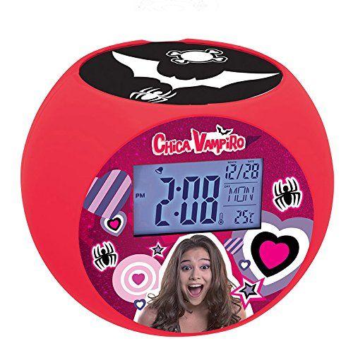 Lexibook – RL975CV – Radio réveil projecteur Chica Vampiro: Réveille-toi avec Chica Vampiro! Design arrondi avec grand écran LCD…