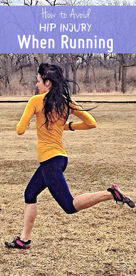 How to prevent hip injury when running.