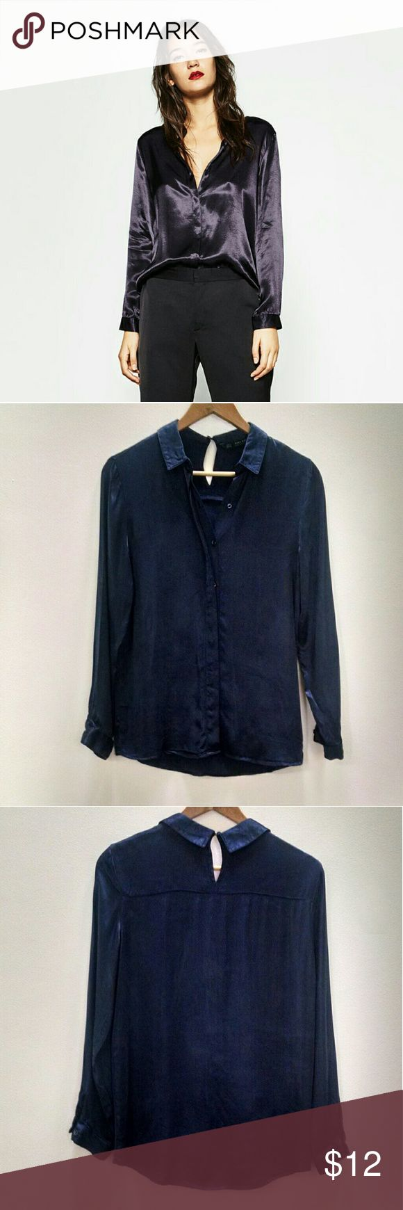 Chambray, Chemise Casual Homme, Bleu (Blue), SmallEsprit