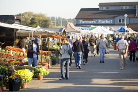 The Farmers' Market, St. Jacobs, Ontario