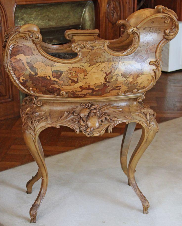 stand for flower pots art nouveau art furniture ii. Black Bedroom Furniture Sets. Home Design Ideas