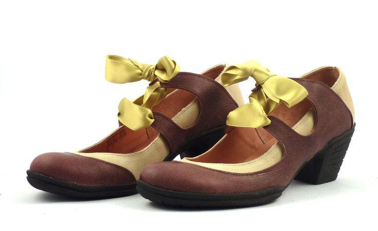 créations Art-H-Pied et GinoGinette chaussures pour hommes, souliers et bottes sur mesures pour femmes Version 05avmarronarvert du Modèle Am...
